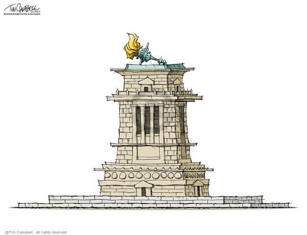Tim Campbell  Tom Campbell Editorial Cartoons 2020-03-17 editorial