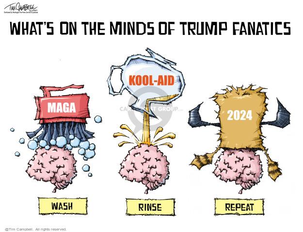 Tim Campbell  Tom Campbell Editorial Cartoons 2021-07-14 republican politician
