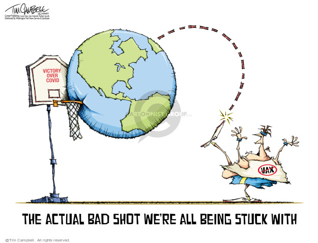 Tim Campbell  Tom Campbell Editorial Cartoons 2021-07-22 medicine