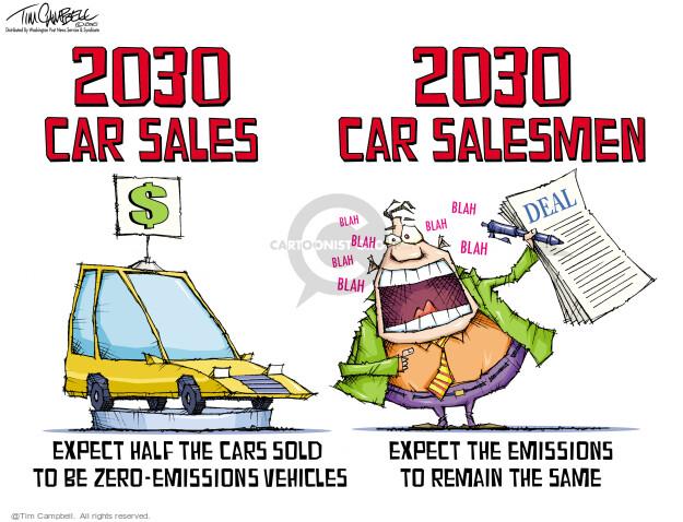 Tim Campbell  Tom Campbell Editorial Cartoons 2021-08-06 car