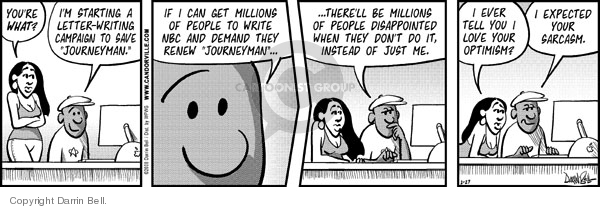 Comic Strip Darrin Bell  Candorville 2008-02-27 renew