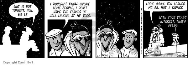 Comic Strip Darrin Bell  Candorville 2008-02-29 hot