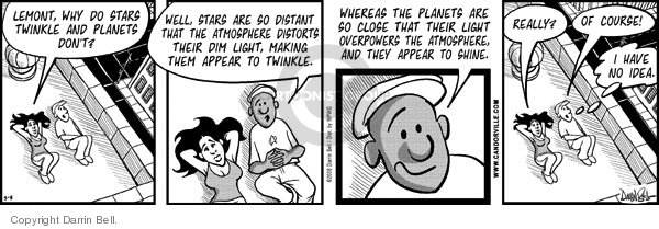 Comic Strip Darrin Bell  Candorville 2008-03-08 solar system
