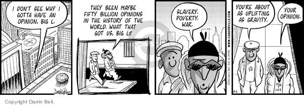 Cartoonist Darrin Bell  Candorville 2008-05-02 viewpoint