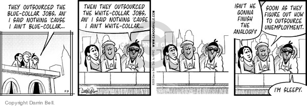 Comic Strip Darrin Bell  Candorville 2008-05-03 apathy