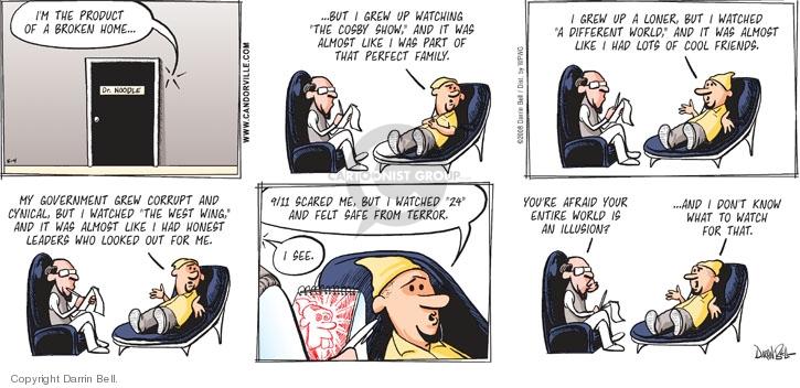 Comic Strip Darrin Bell  Candorville 2008-05-04 illusion