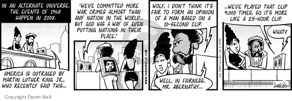 Comic Strip Darrin Bell  Candorville 2008-05-07 alternative reality