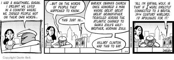 Comic Strip Darrin Bell  Candorville 2008-05-10 election