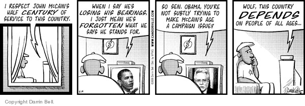 Comic Strip Darrin Bell  Candorville 2008-05-19 election
