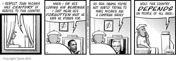 Comic Strip Darrin Bell  Candorville 2008-05-19 presidential