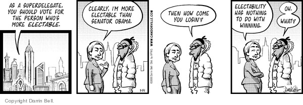 Comic Strip Darrin Bell  Candorville 2008-05-21 election