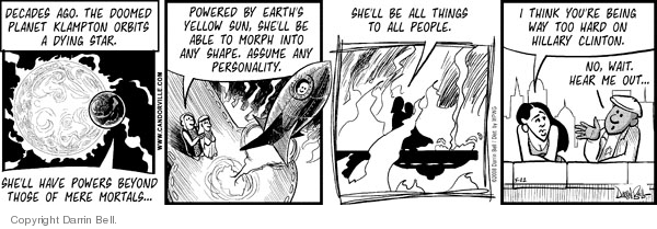 Comic Strip Darrin Bell  Candorville 2008-05-22 star