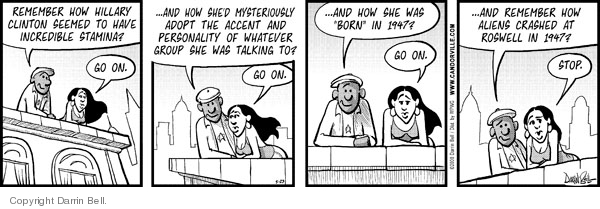 Comic Strip Darrin Bell  Candorville 2008-05-23 accent