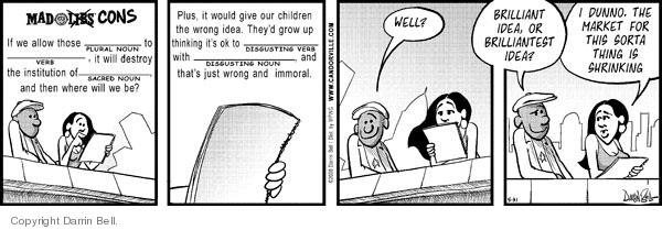 Comic Strip Darrin Bell  Candorville 2008-05-31 marketing to children