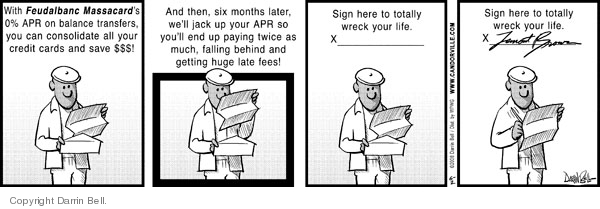 Comic Strip Darrin Bell  Candorville 2008-06-02 annual