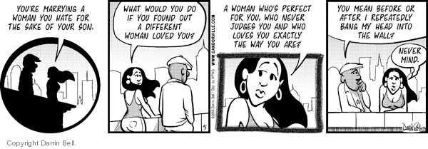 Comic Strip Darrin Bell  Candorville 2008-06-07 love