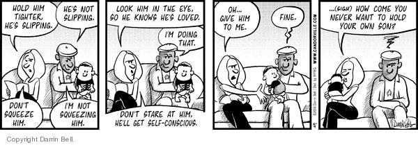 Comic Strip Darrin Bell  Candorville 2008-06-09 love