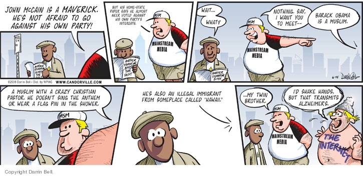 Comic Strip Darrin Bell  Candorville 2008-06-15 election