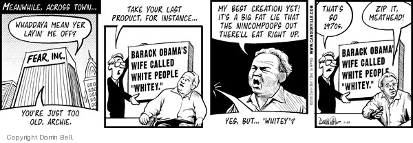 Comic Strip Darrin Bell  Candorville 2008-06-23 election