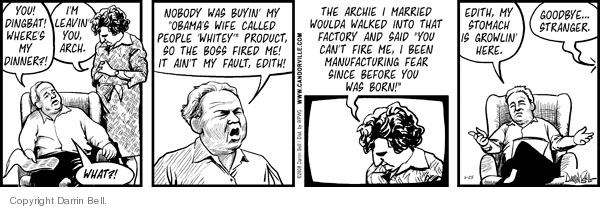 Comic Strip Darrin Bell  Candorville 2008-06-25 product