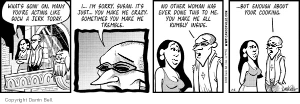 Comic Strip Darrin Bell  Candorville 2008-07-02 apologize