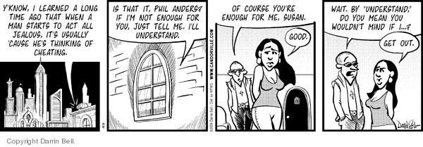 Comic Strip Darrin Bell  Candorville 2008-07-04 wait