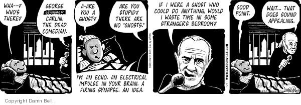 Comic Strip Darrin Bell  Candorville 2008-07-07 good idea