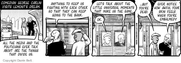 Comic Strip Darrin Bell  Candorville 2008-07-08 cultural