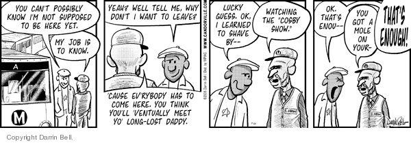 Comic Strip Darrin Bell  Candorville 2008-07-16 left you