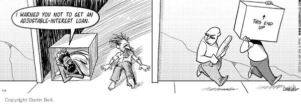 Comic Strip Darrin Bell  Candorville 2008-07-19 raid