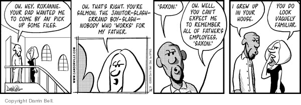 Comic Strip Darrin Bell  Candorville 2008-07-28 father daughter