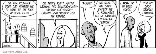 Comic Strip Darrin Bell  Candorville 2008-07-28 worker