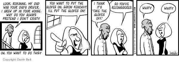 Comic Strip Darrin Bell  Candorville 2008-07-29 existence