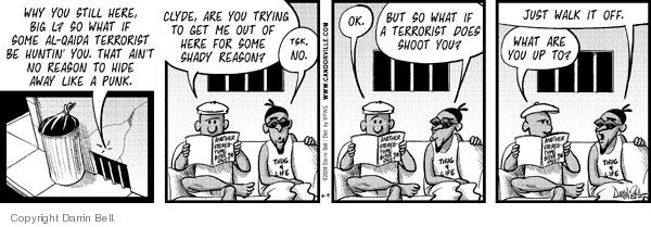Comic Strip Darrin Bell  Candorville 2008-08-04 Al Qaeda