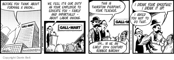 Cartoonist Darrin Bell  Candorville 2008-08-13 manager