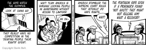 Comic Strip Darrin Bell  Candorville 2008-08-21 foreign policy