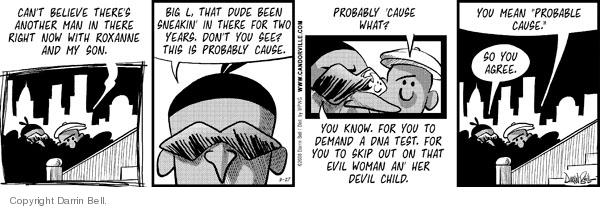 Comic Strip Darrin Bell  Candorville 2008-08-27 DNA