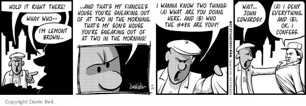 Cartoonist Darrin Bell  Candorville 2008-08-29 wait
