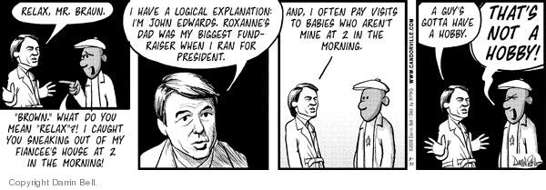 Comic Strip Darrin Bell  Candorville 2008-08-30 logical