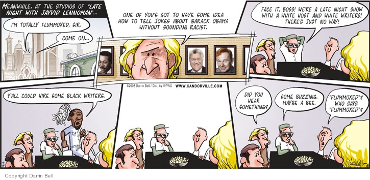 Comic Strip Darrin Bell  Candorville 2008-09-14 2008 election