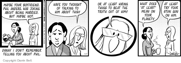 Comic Strip Darrin Bell  Candorville 2008-09-17 truth