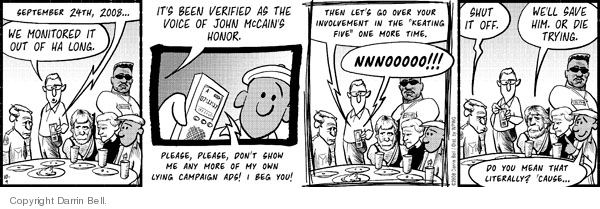 Comic Strip Darrin Bell  Candorville 2008-10-09 allegation