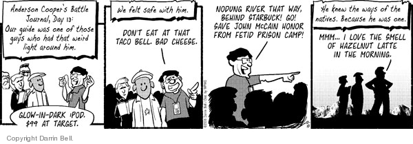 Comic Strip Darrin Bell  Candorville 2008-10-10 fast food