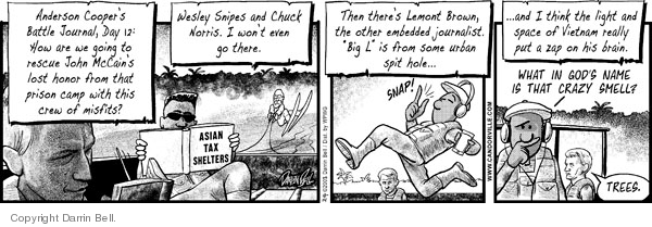 Comic Strip Darrin Bell  Candorville 2008-10-14 April 15