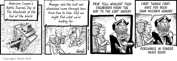 Comic Strip Darrin Bell  Candorville 2008-10-28 2008 election