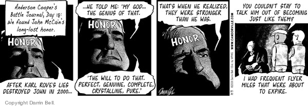 Comic Strip Darrin Bell  Candorville 2008-10-31 2008 election