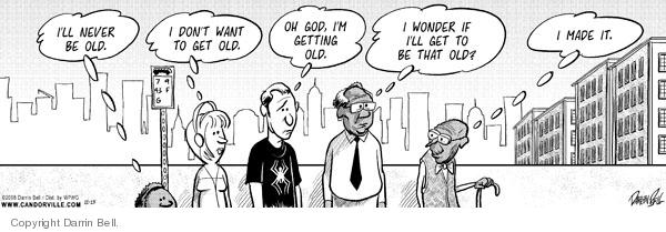 Comic Strip Darrin Bell  Candorville 2008-11-15 elderly