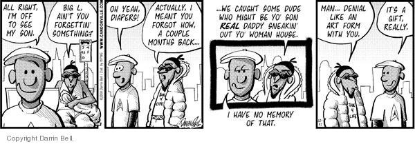Comic Strip Darrin Bell  Candorville 2008-12-31 meant