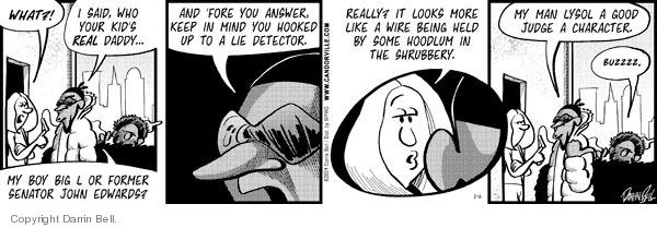 Comic Strip Darrin Bell  Candorville 2009-01-06 honesty