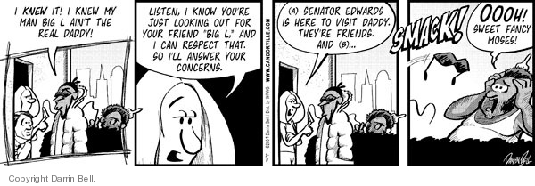 Comic Strip Darrin Bell  Candorville 2009-01-08 smack